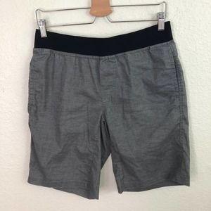 Prana Men's Vaha Shorts Gray Hemp/Poly